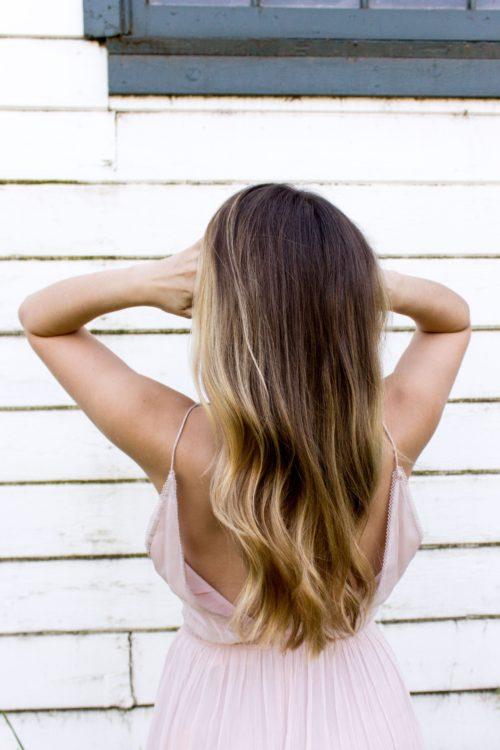 Damen Haare schneiden , waschen und Föhnen